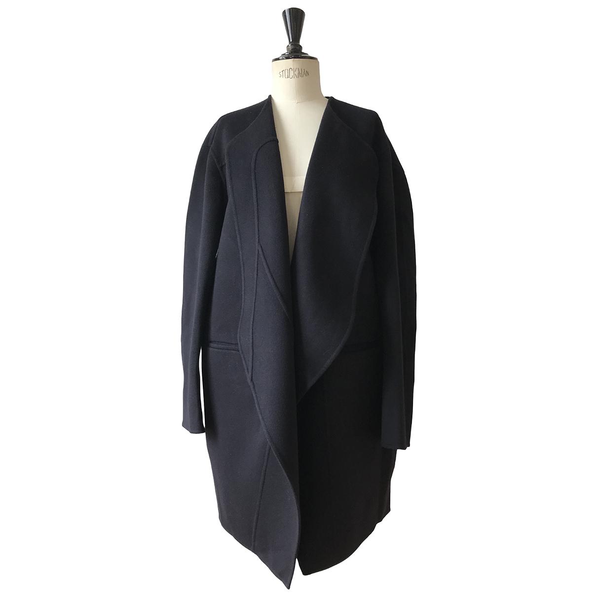 Celine - Manteau   pour femme en laine - marine