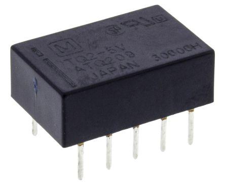 Panasonic DPDT miniature HF relay, 1A 5Vdc coil