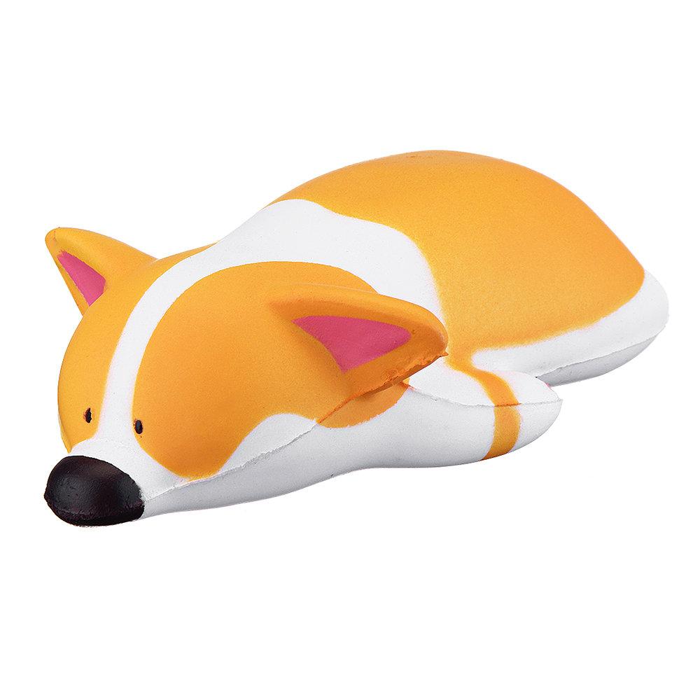 Kawaii Corgi Squishy Animal Jumbo Soft Toy Gift Collection With Package
