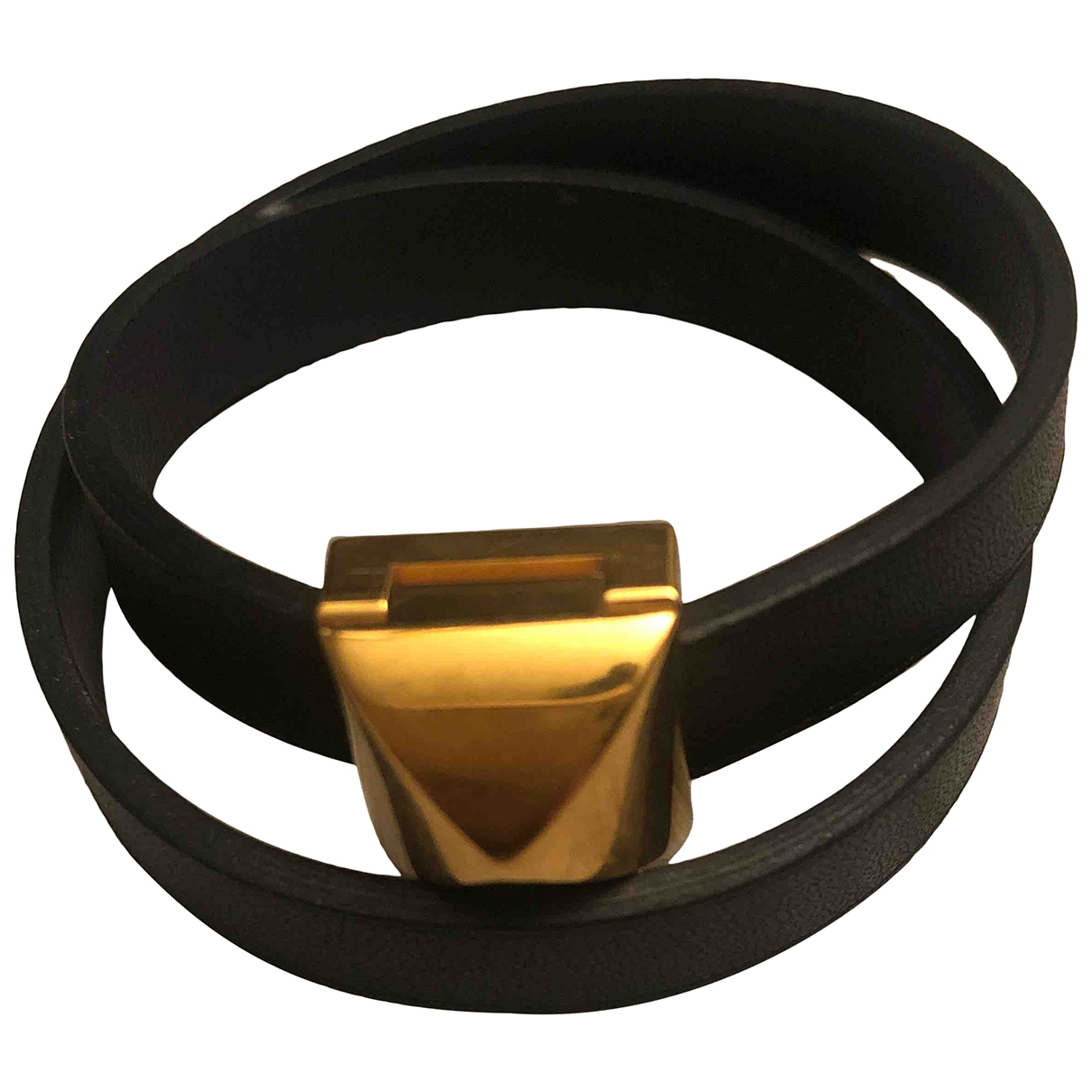 Hermes - Bracelet   pour femme en cuir - marine