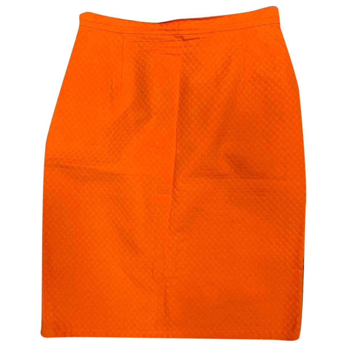 Emanuel Ungaro \N Rocke in  Orange Baumwolle