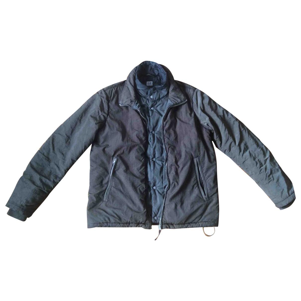 Cp Company \N Jacke in  Gruen Polyester