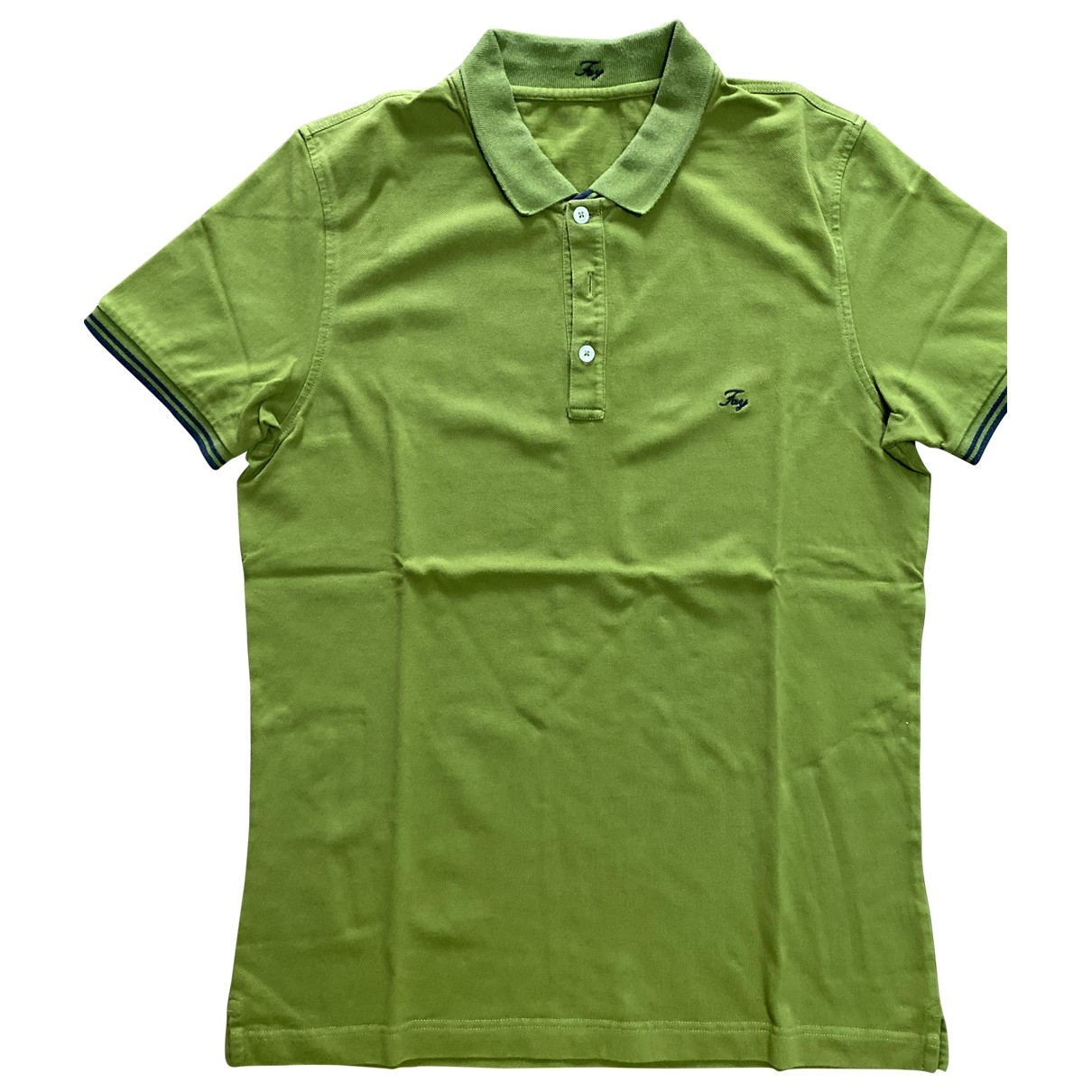 Fay \N Green Cotton Polo shirts for Men L International