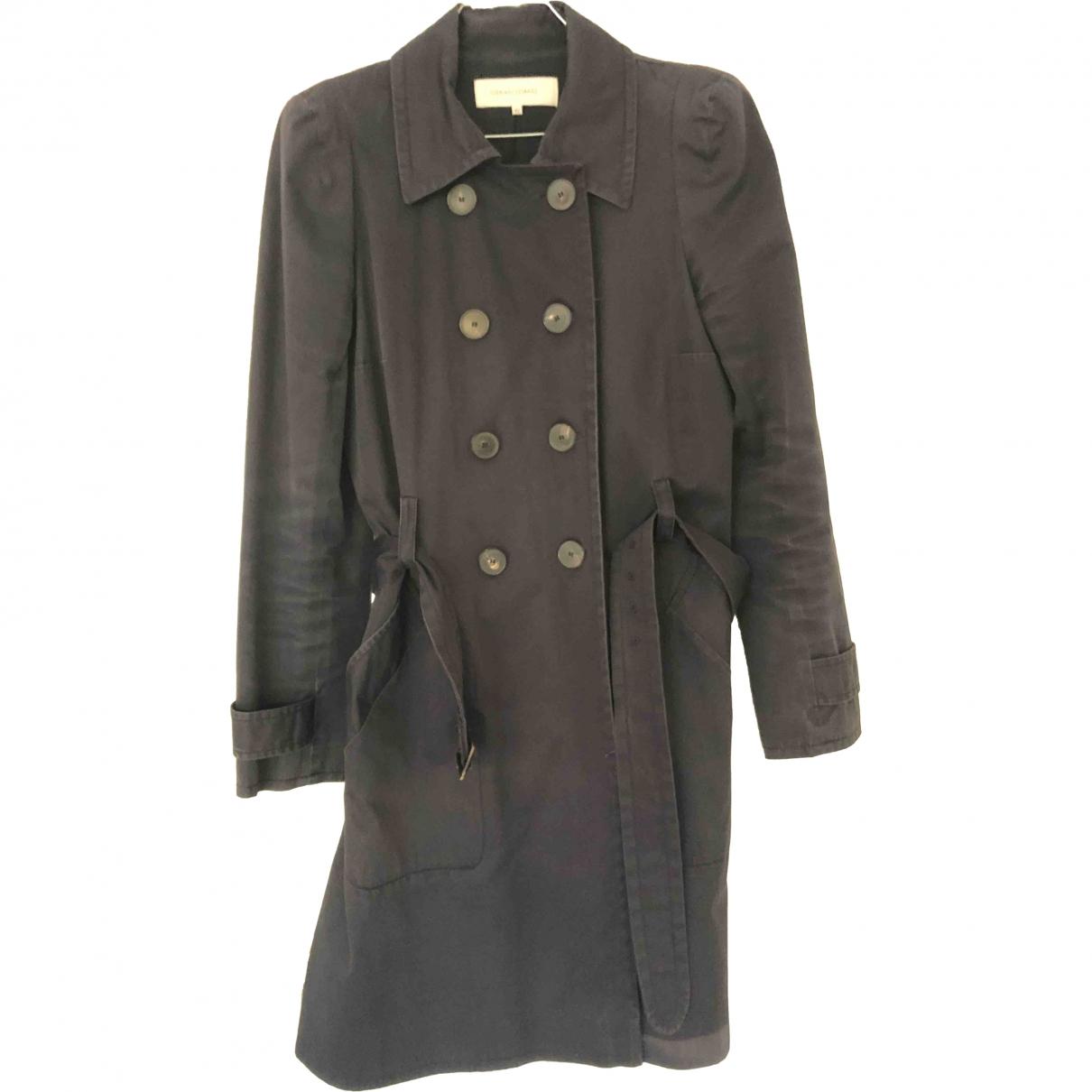 Gerard Darel \N Navy Cotton coat for Women 40 FR