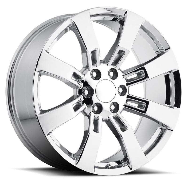OE Replica 582 Series 22x9 6x139.7 +28MM Chrome REV Wheel