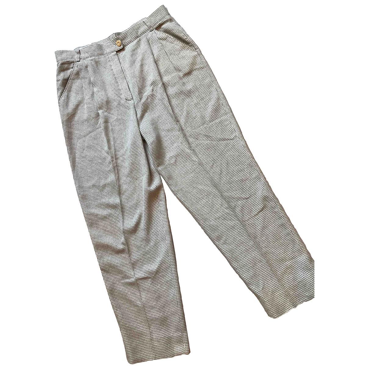 Pantalon zanahoria de Lana Escada