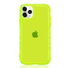 1 Stueck Neon gruene einfarbige iPhone Huelle