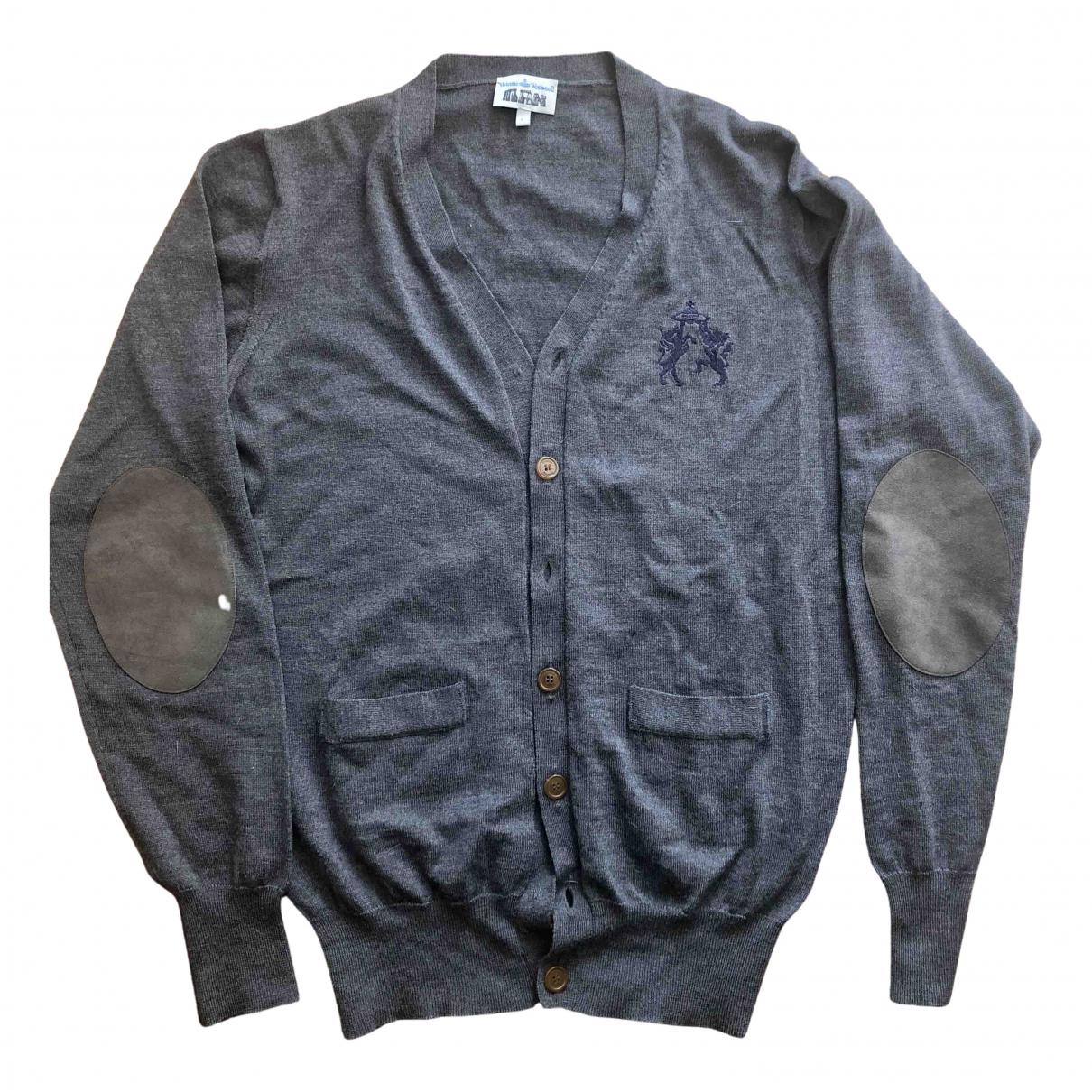 Vivienne Westwood \N Pullover.Westen.Sweatshirts  in  Grau Wolle