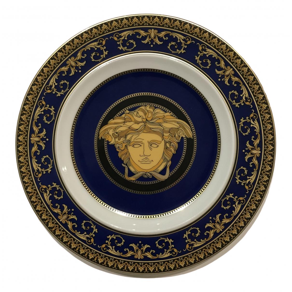 Versace - Objets & Deco   pour lifestyle en porcelaine - bleu
