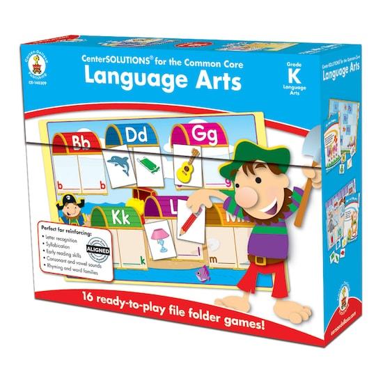 Centersolutions® LanGauge Arts File Folder Games, Grade K By Carson Dellosa | Michaels®