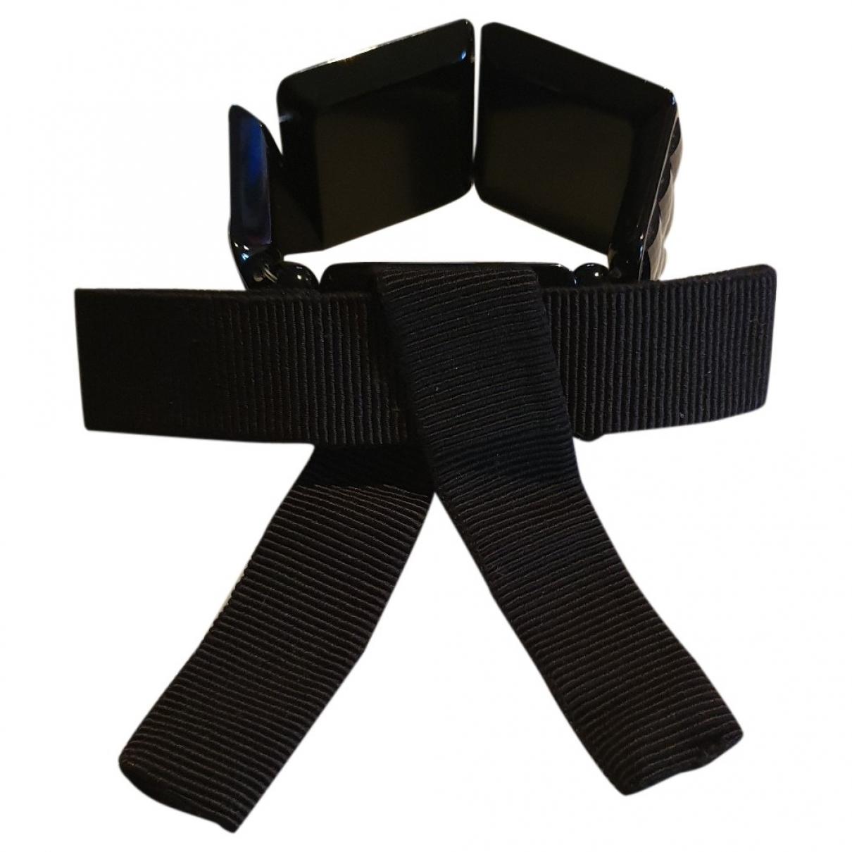 Emporio Armani - Bracelet   pour femme en autre - noir