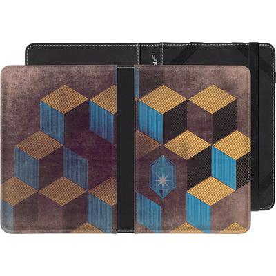Amazon Kindle Touch eBook Reader Huelle - Cubes Gems von Brent Williams