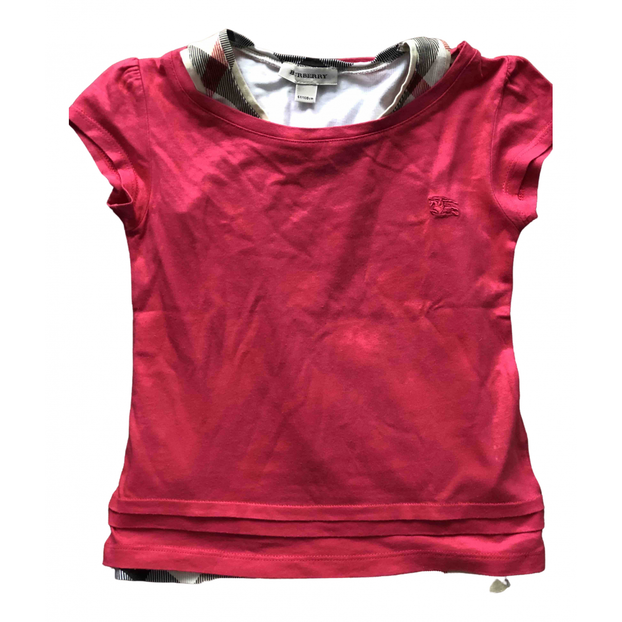 Burberry \N Beige Cotton  top for Kids 4 years - until 40 inches UK