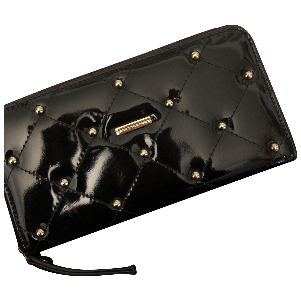 Autre Marque N Black Patent leather wallet for Women N