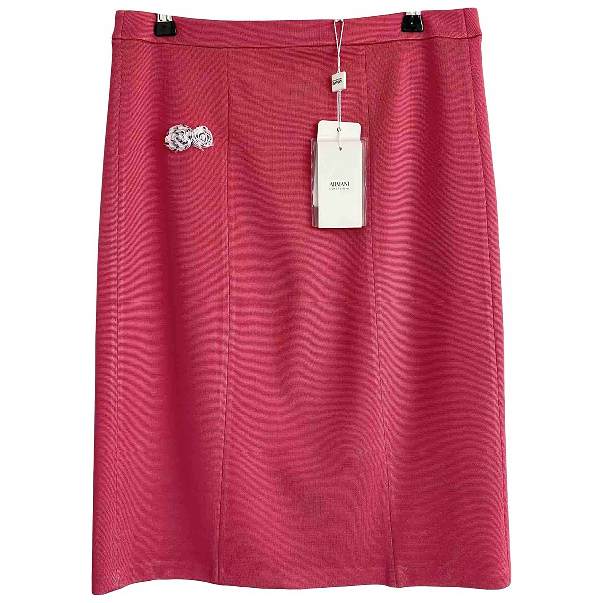 Armani Collezioni \N Pink skirt for Women 42 IT