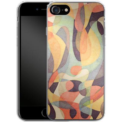 Apple iPhone 8 Silikon Handyhuelle - From Darkness von Georgiana Teseleanu