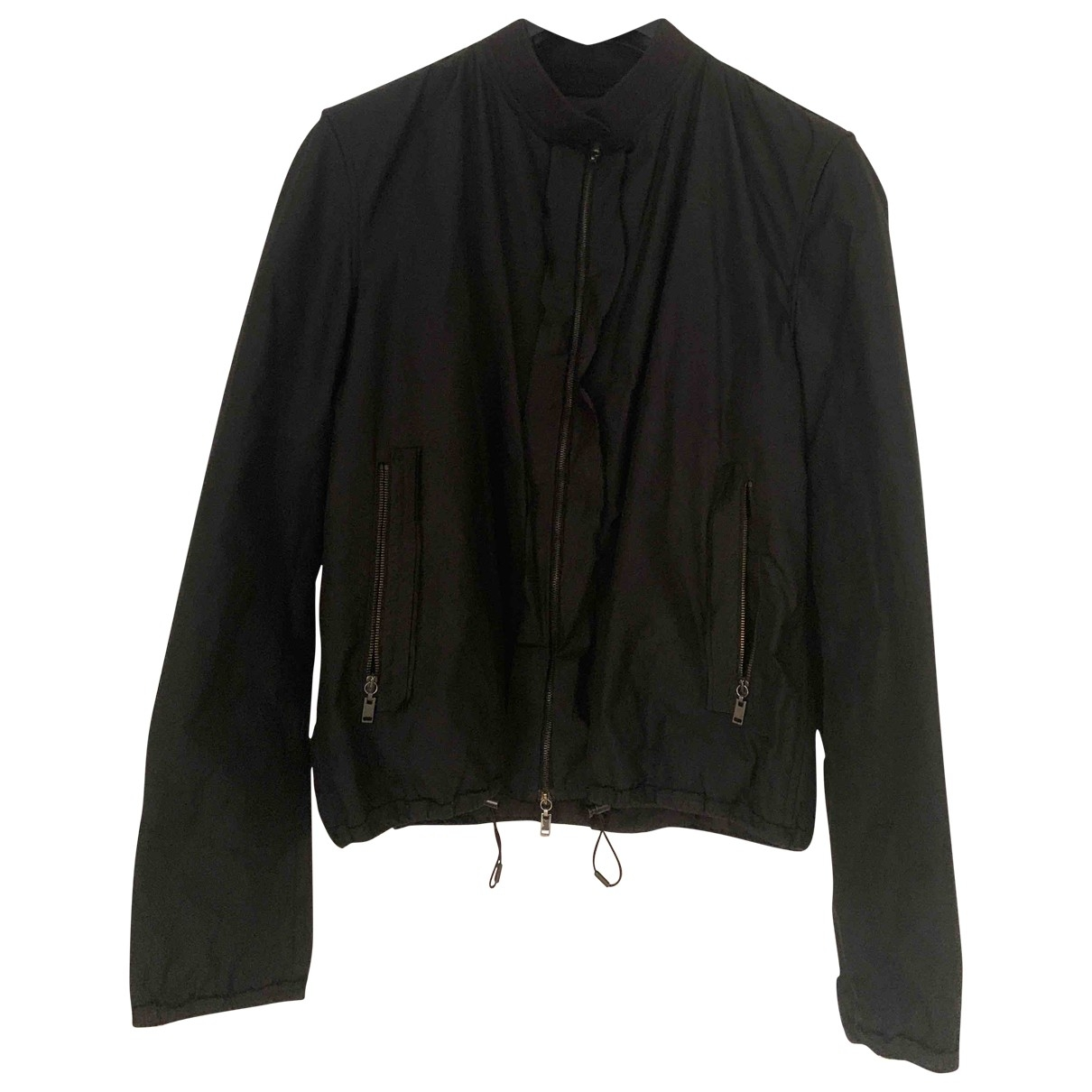 Lanvin \N Black jacket  for Men 48 FR