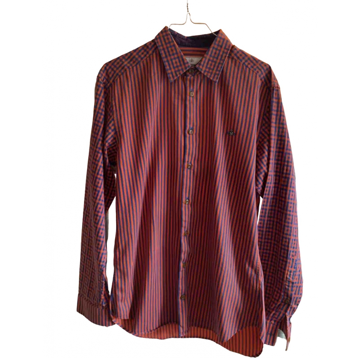 Vivienne Westwood - Chemises   pour homme en coton - rouge