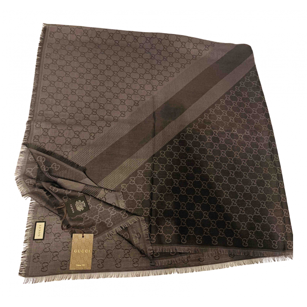 Gucci N Anthracite scarf for Women N