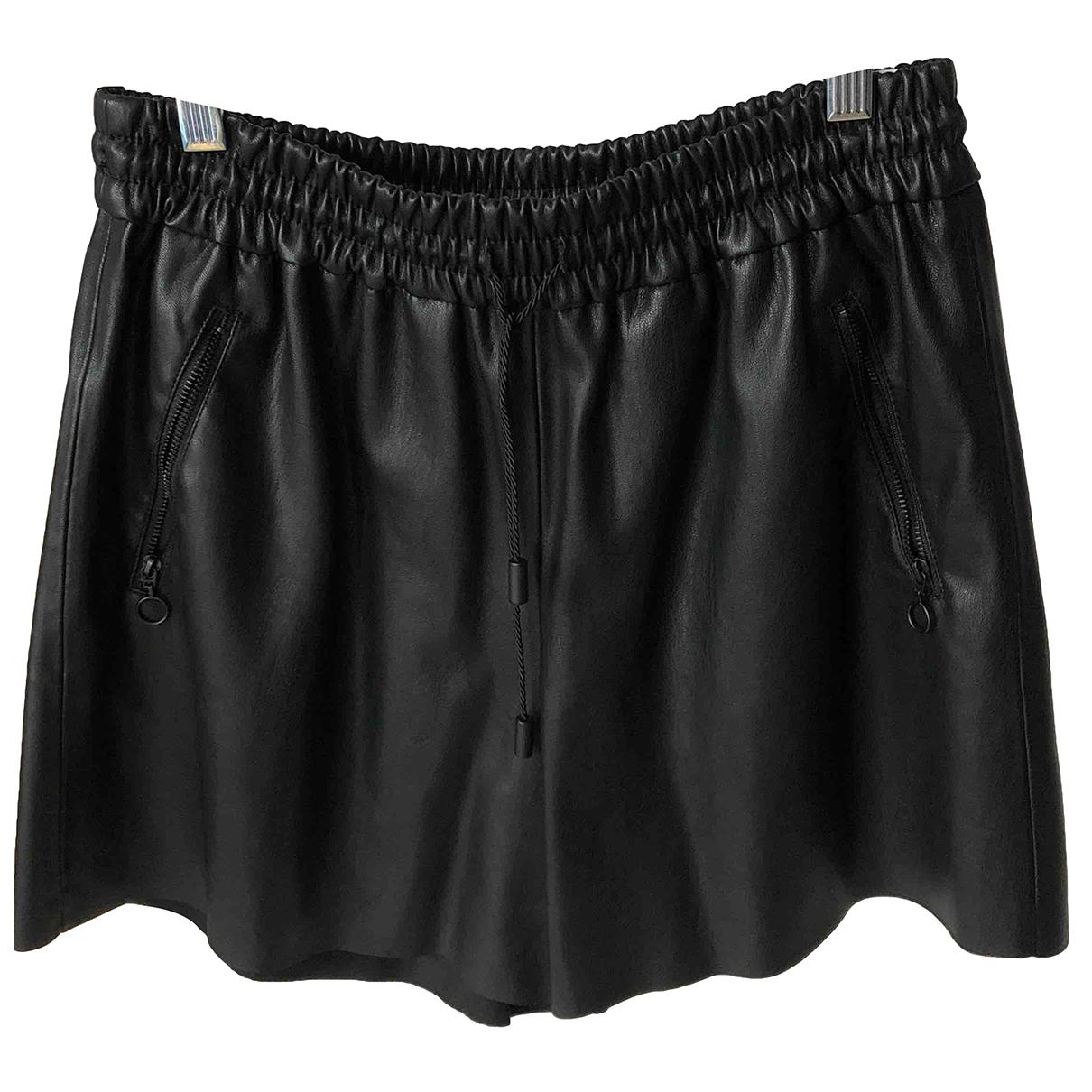 Zara \N Shorts in  Schwarz Polyester