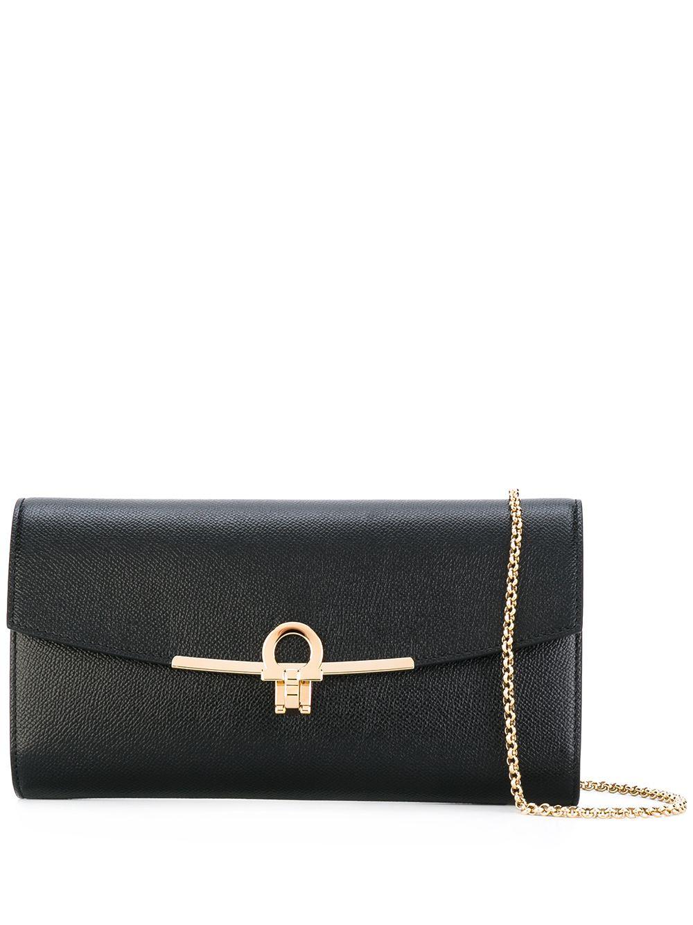 Gancino Clip Leather Mini Bag