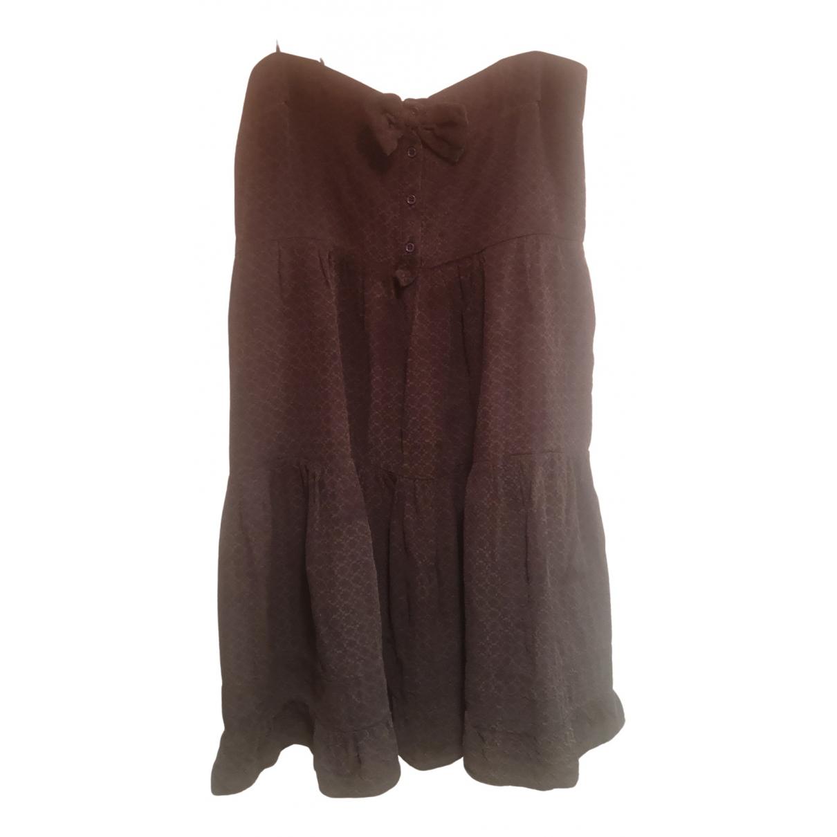 Mini vestido de Seda Sandro