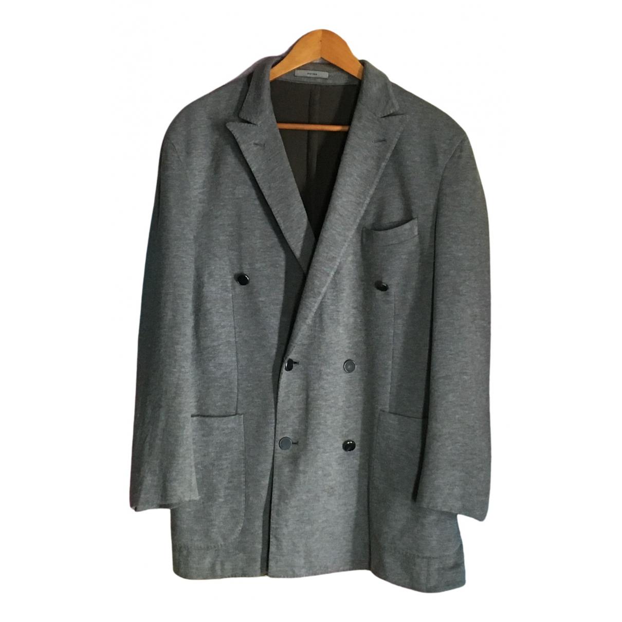 Boglioli - Manteau   pour homme en coton - gris