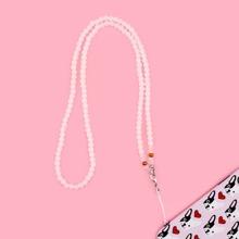 Tira de celular con cuenta con perla artificial