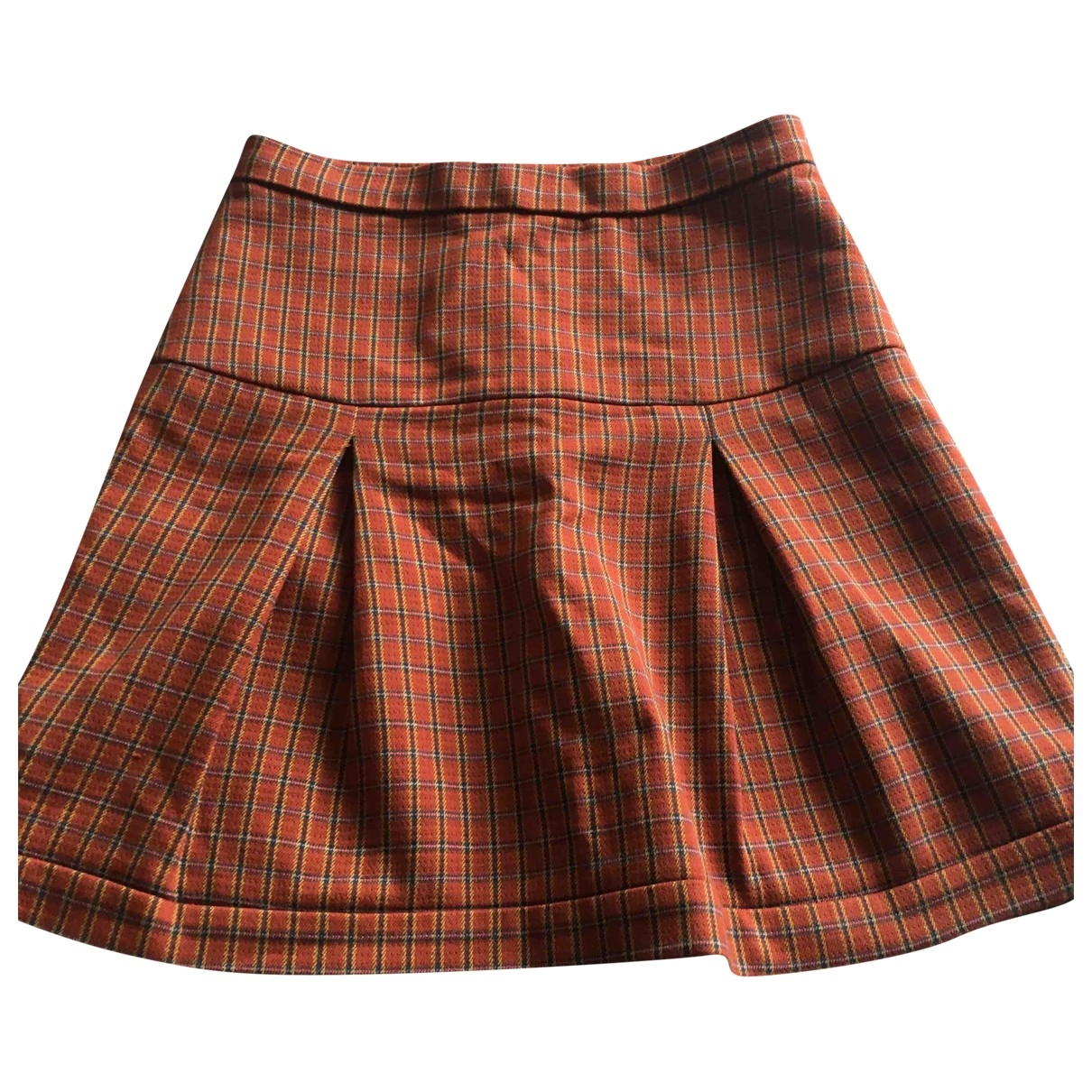 Bimba Y Lola \N Orange Cotton skirt for Women S International