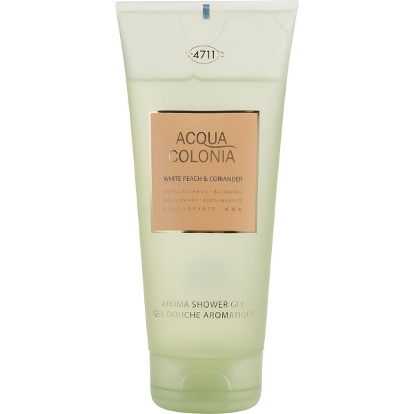 Acqua Colonia White Peach & Coriander - 4711 Gel de ducha 200 ml