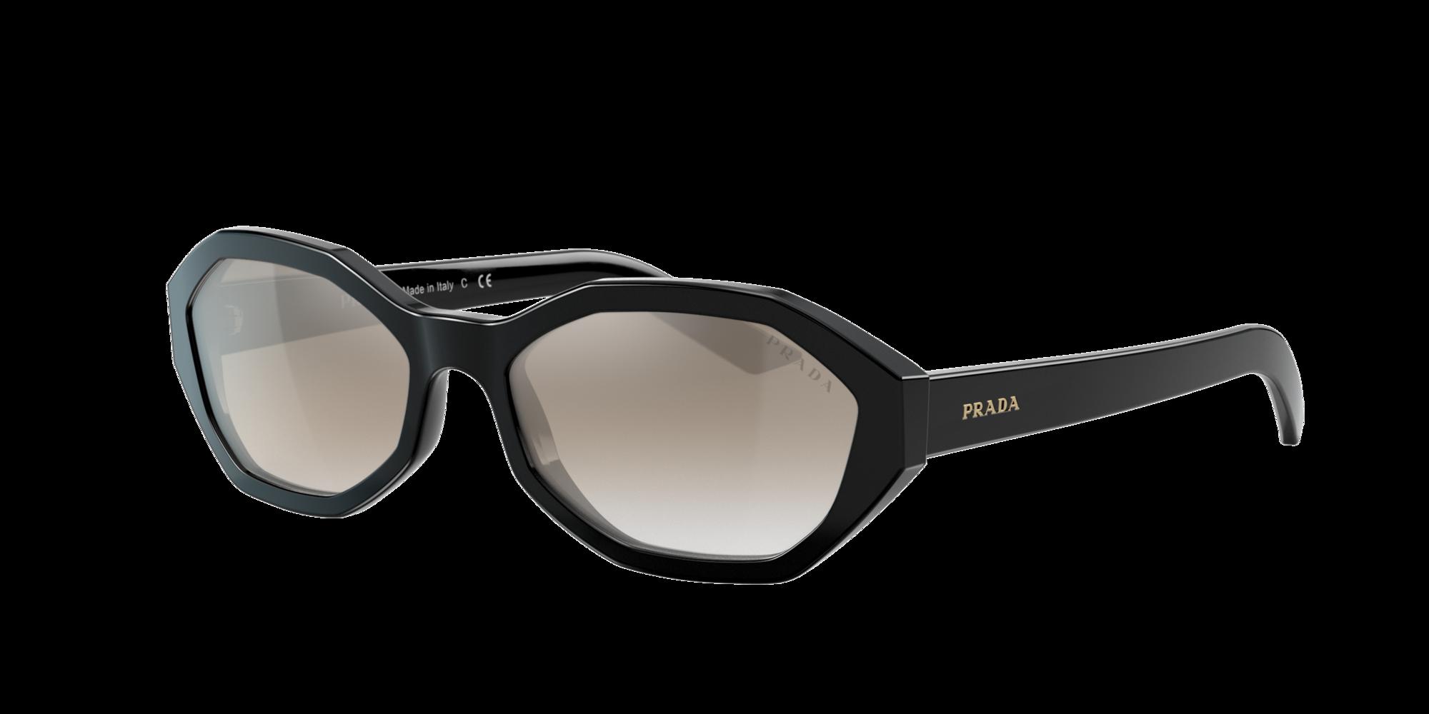 Prada Unisex  PR 20VS -  Frame color: Noir, Lens color: Gris-Noir, Size 56-17/140