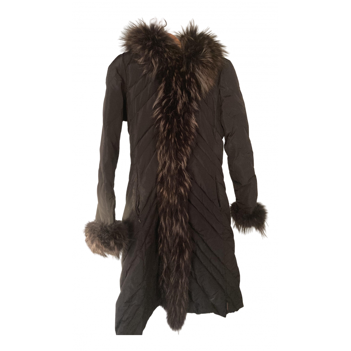 Moncler Long Black jacket for Women S International