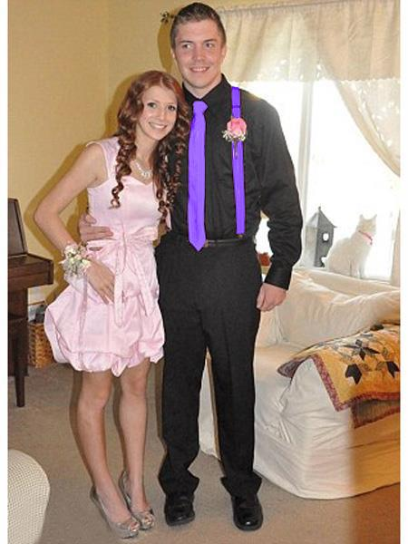 High7School Homecoming Outfits For Guys Casual Package Violet