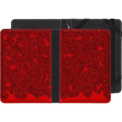 tolino page eBook Reader Huelle - Red Black von Mattartiste