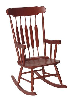 3800C Natural Solid Wood Handcrafted Adult Rocking Chair in Cherry