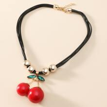 Cherry Charm Necklace