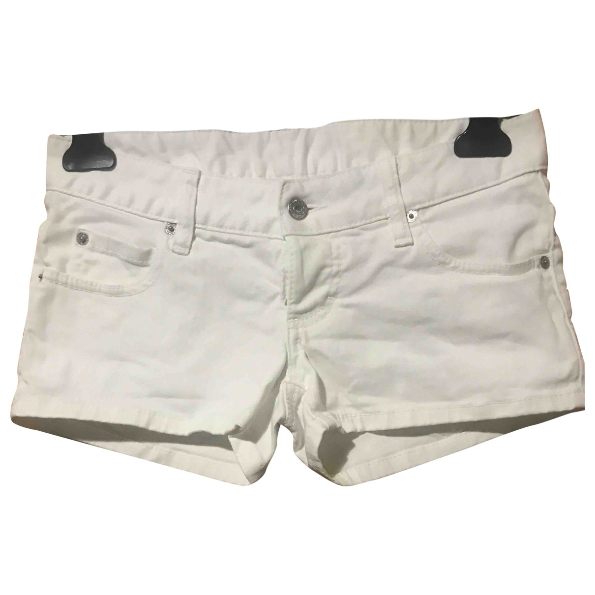 Dsquared2 \N Shorts in  Weiss Baumwolle - Elasthan
