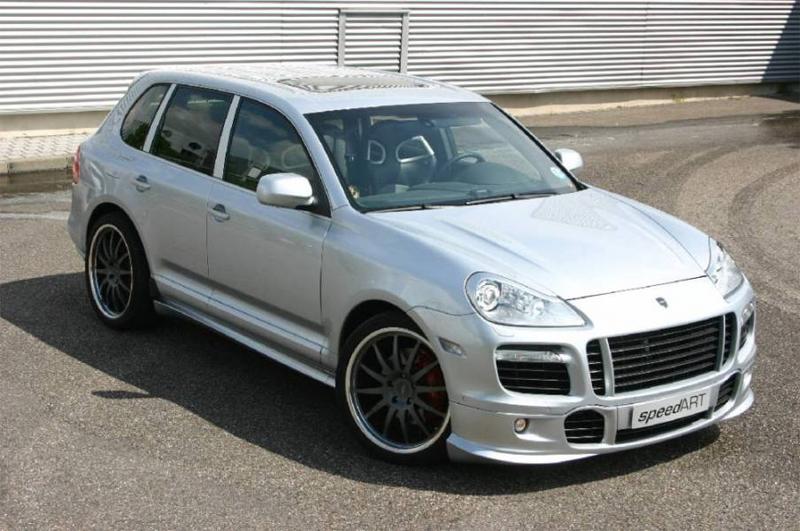 SpeedART Front Add-On Spoiler Porsche Cayenne 957 08-10