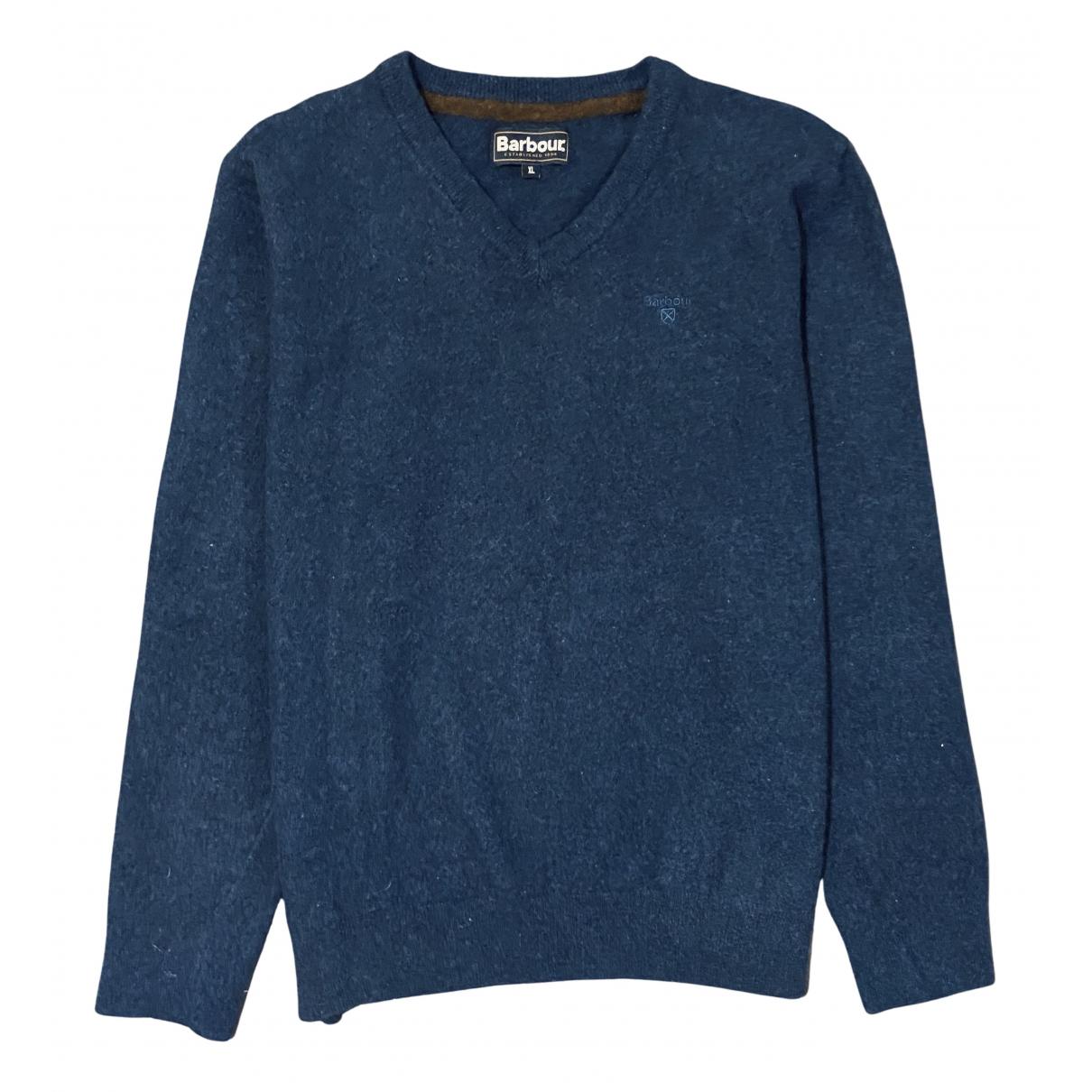 Barbour \N Pullover.Westen.Sweatshirts  in  Blau Wolle