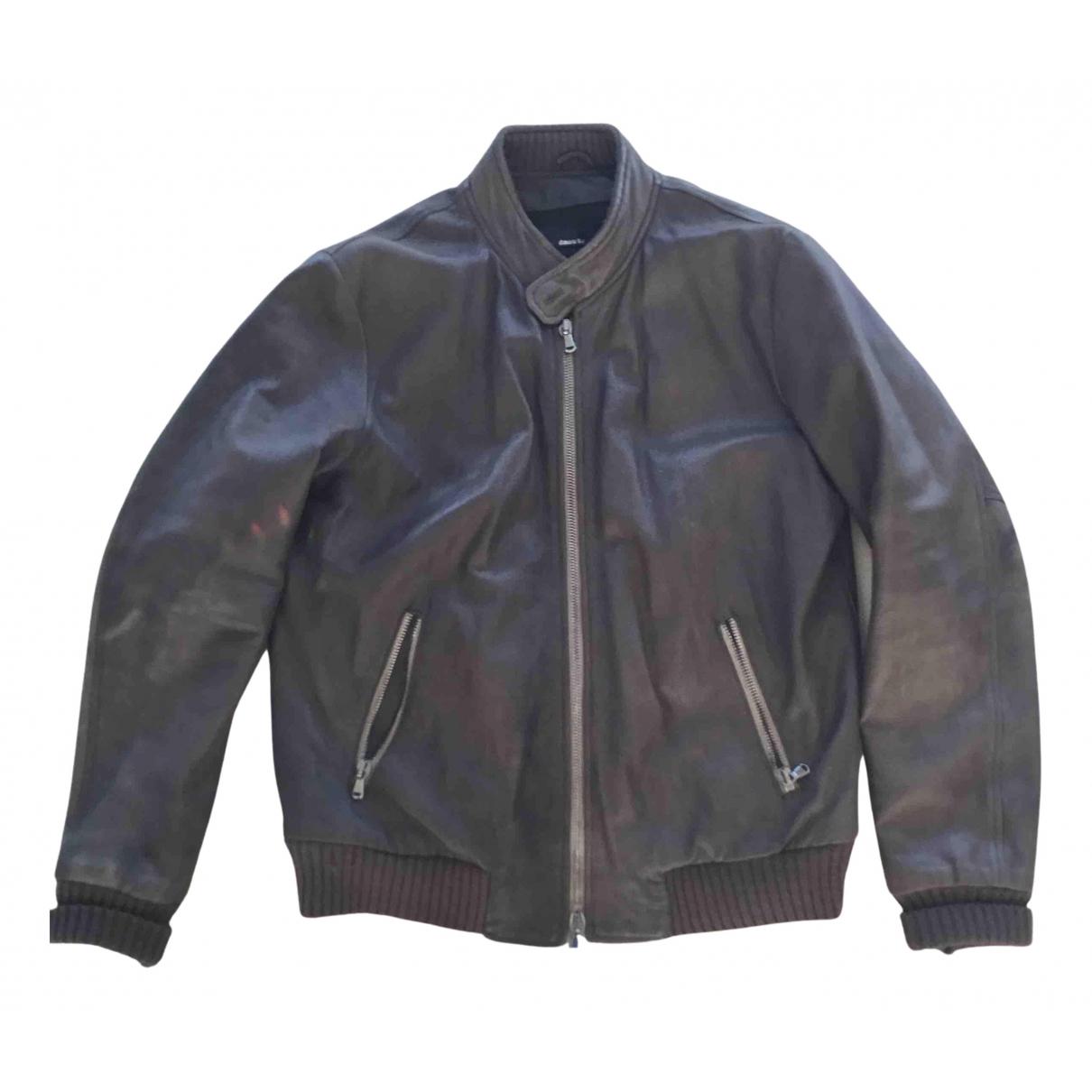 Dacute - Manteau   pour homme en cuir