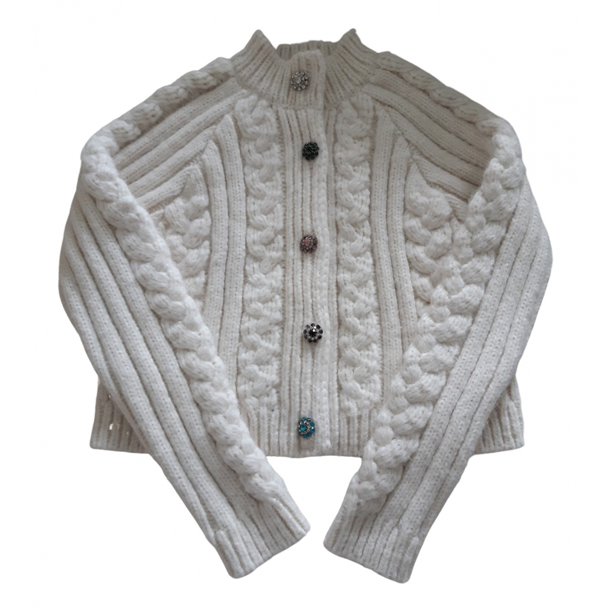 Ganni N Ecru Wool Knitwear for Women S International