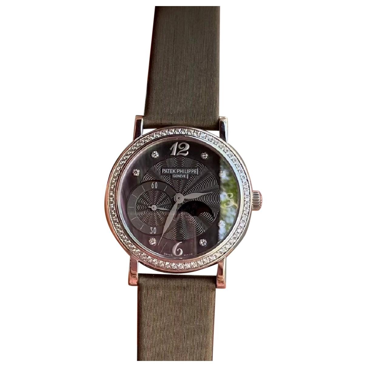 Patek Philippe \N White gold watch for Women \N