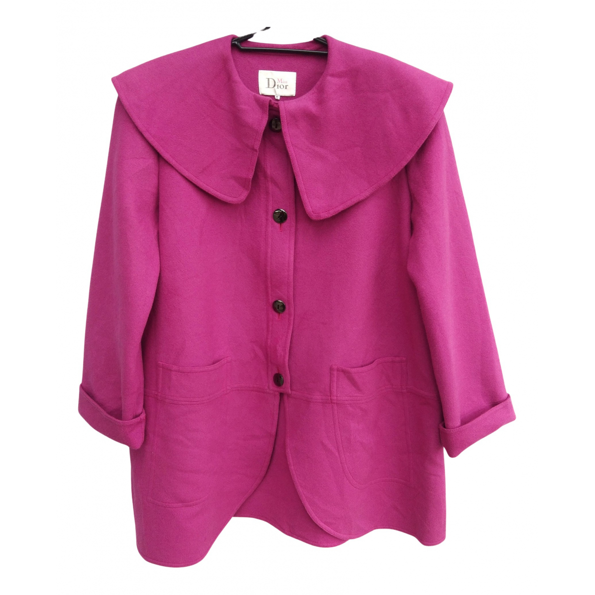 Dior - Veste   pour femme en laine - rose
