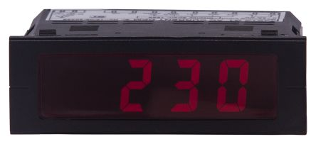 Sifam Tinsley BT32-BR1CQ00000000 , LCD Digital Panel Multi-Function Meter for Voltage, 22.2mm x 68mm