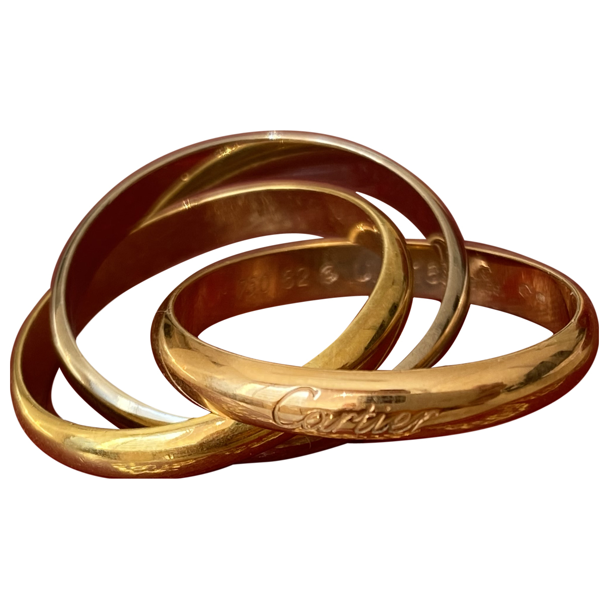 Joya Trinity de Oro amarillo Cartier