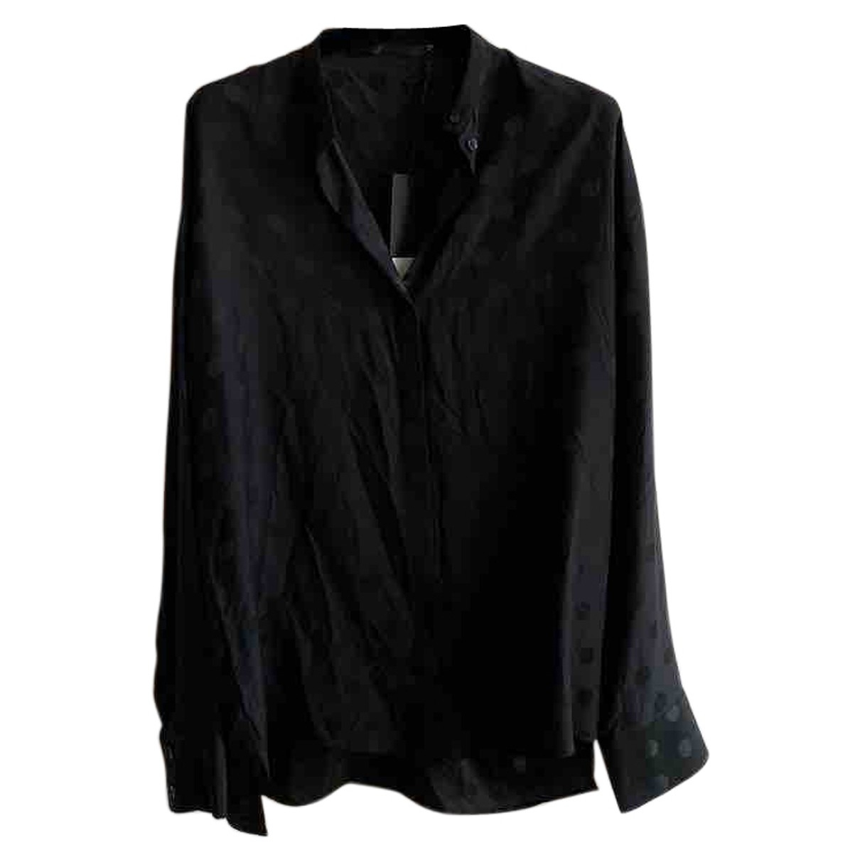 Haider Ackermann \N Black Silk Shirts for Men S International