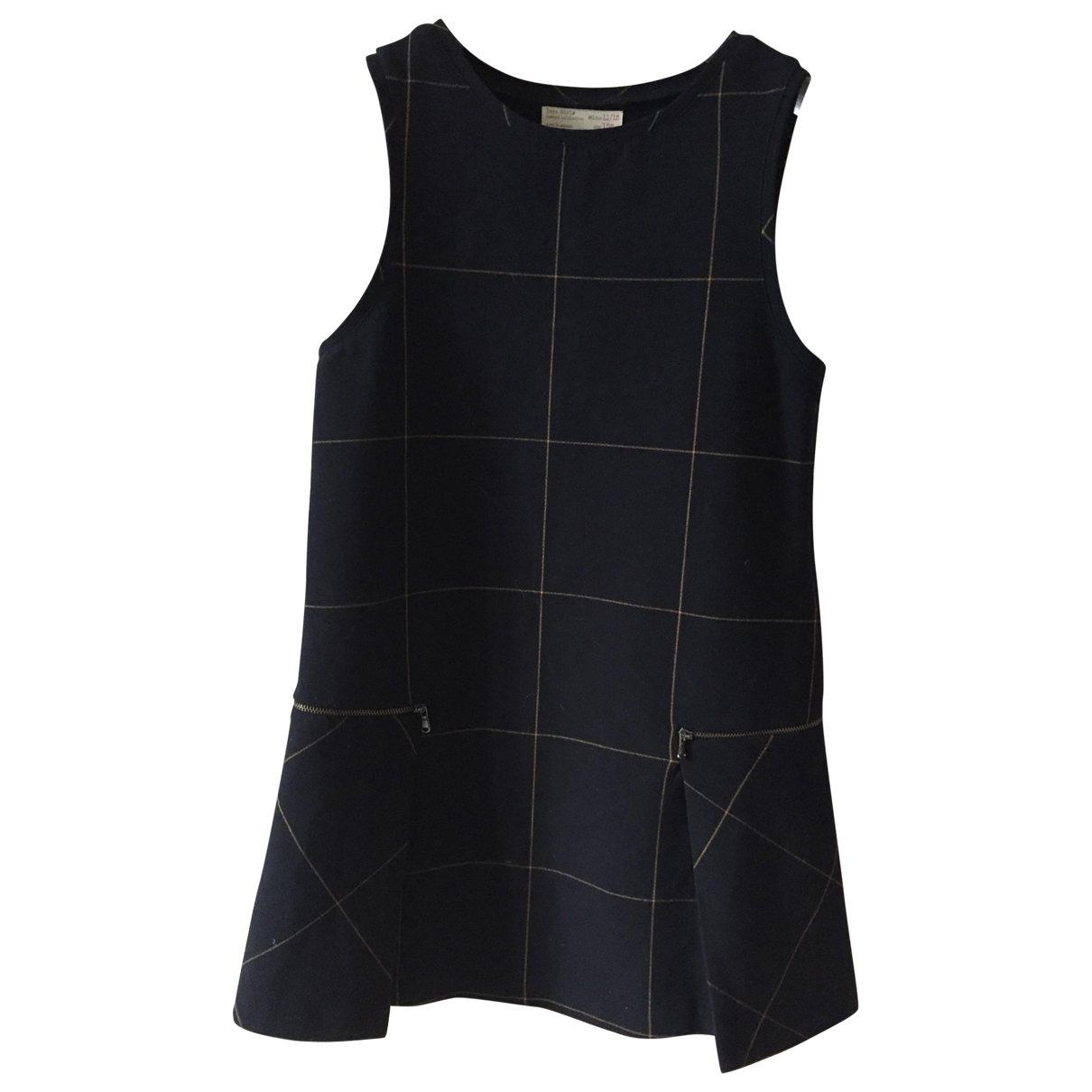 Zara - Robe    pour enfant - marine