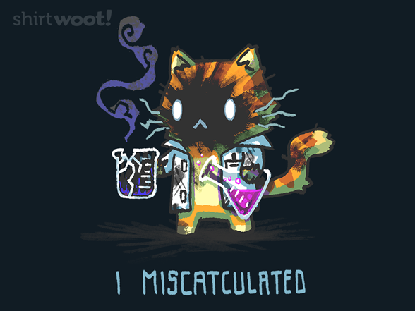 I Miscatculated Remix T Shirt