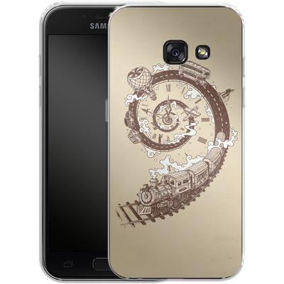 Samsung Galaxy A3 (2017) Silikon Handyhuelle - Time Travel von Enkel Dika