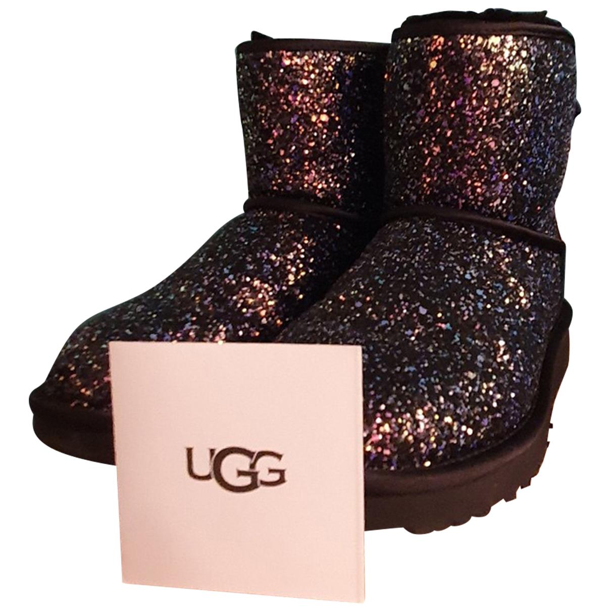 Ugg \N Multicolour Glitter Boots for Women 38 EU